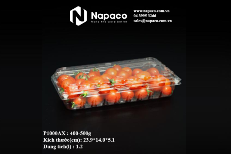 hộp đựng cà chua