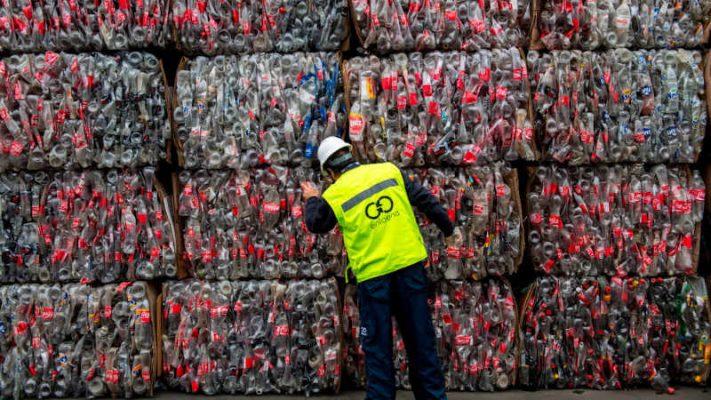 xử lý rác thải nhựa