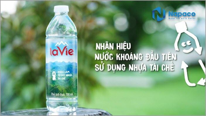 Chai nhựa Lavie